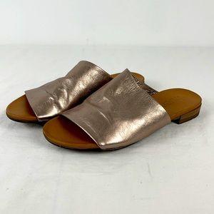 Bueno Turner Rose Gold Slides